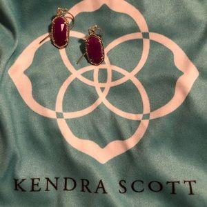 Kendra Scott Purple Lee Earrings